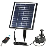 Anself Solar Power Water Pump for Garden Pond Fountains Landscape (Type 6) (Color: Type 6)
