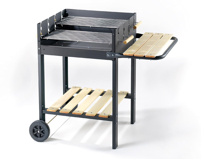 Barbecue 55x54x82h acc/legno – Kleine Elektrogeräte Sommer OMPAGRILL günstig online kaufen