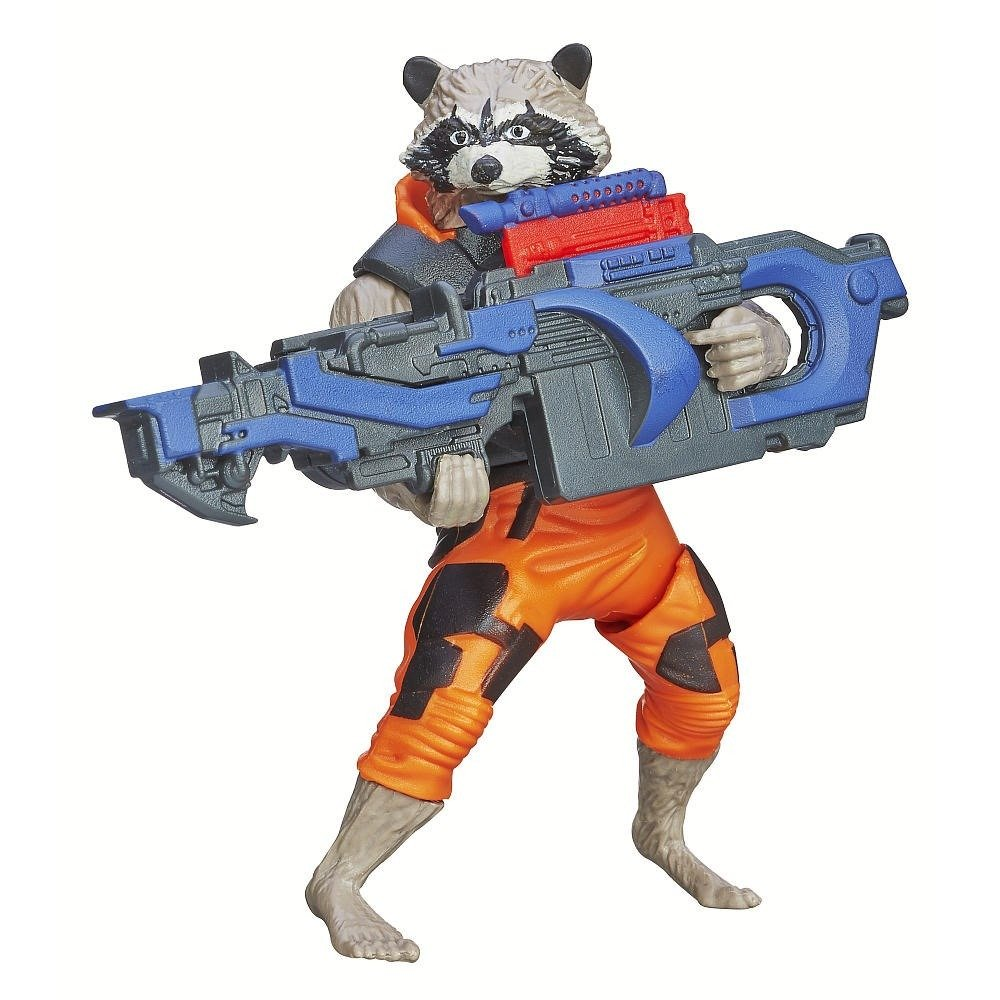 Guardians of the Galaxy – Rocket Raccoon – Action Figur, ca. 10 cm günstig als Geschenk kaufen