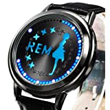 Wildforlife Anime Re Zero Starting Life in Another World Collector's Edition Touch LED Watch (Rem)