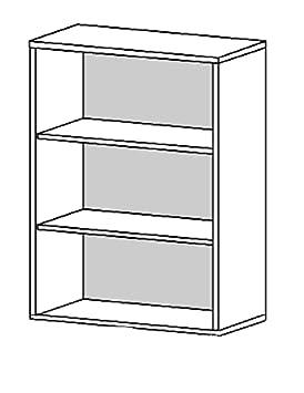 Kit biblioteca antes cm.89x40x113h 80423-36 cil