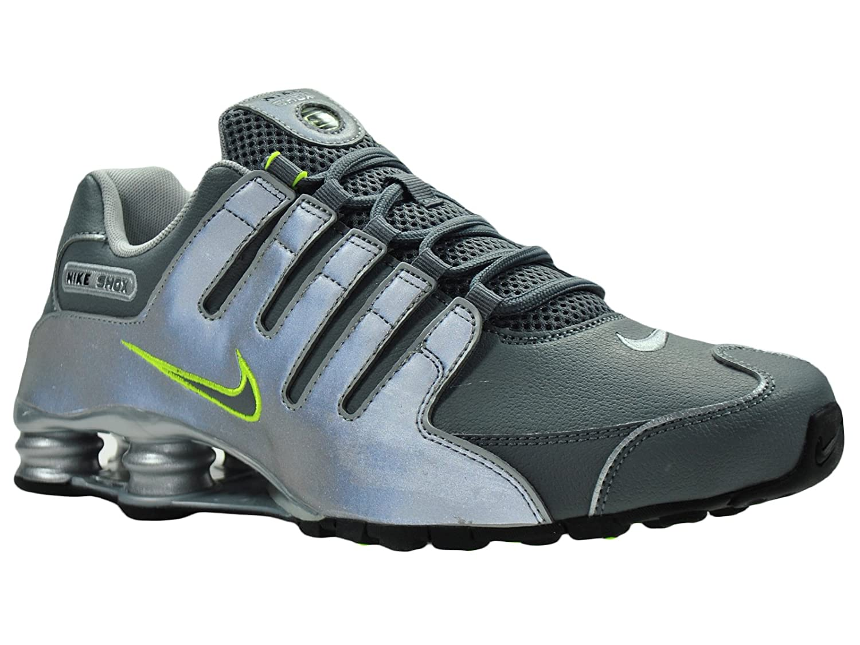 Nike Men's Shox NZ Metallic Silver / Black / Cool Grey ...