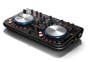 Controlador de DJ Pioneer DDJ-WeGO, color negro.