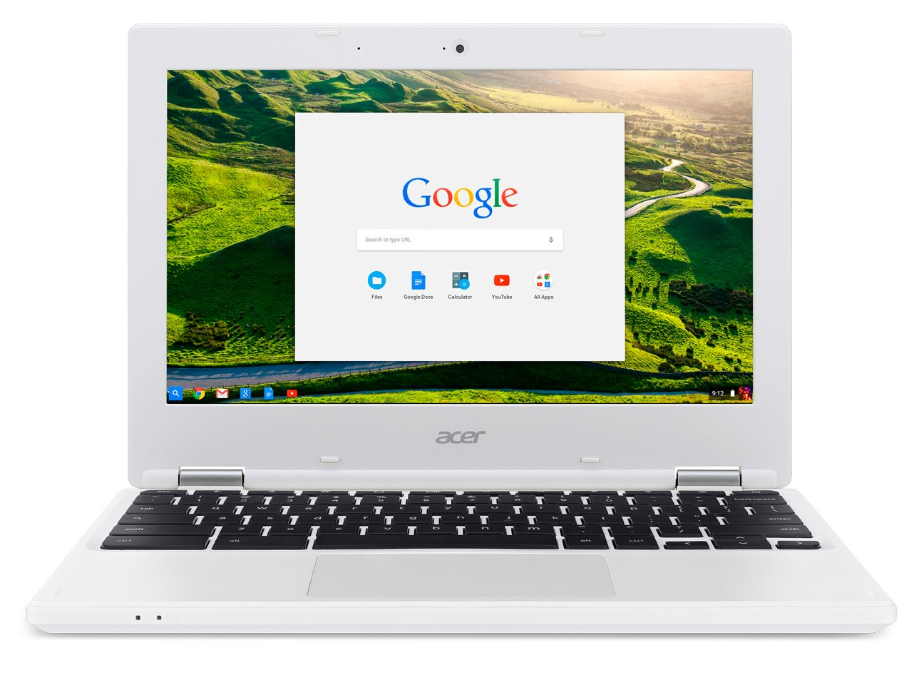 Acer Chromebook, 11.6-inch HD, CB3-131-C3SZ (Intel Celeron, 2GB, 16GB, White)