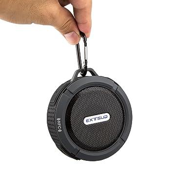 EXTSUD(R)Strandstern 5w IPX5 Wasserdicht staubfest Bluetooth Lautsprecher  3.0 (schwarz) - de95