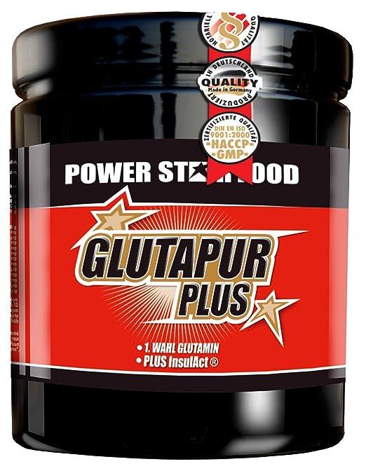 GLUTAPUR PLUS, Dose 400g = 40 Portionen Aminosäure Glutamin 1. Wahl in freier Form als Getränkepulver in Pharmaqualität; Vegane Sportnahrung.