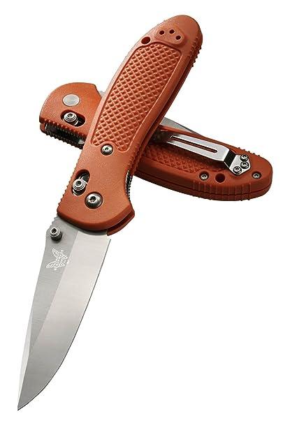 Benchmade 551H2O Orange Plain Edge Griptilian Knife