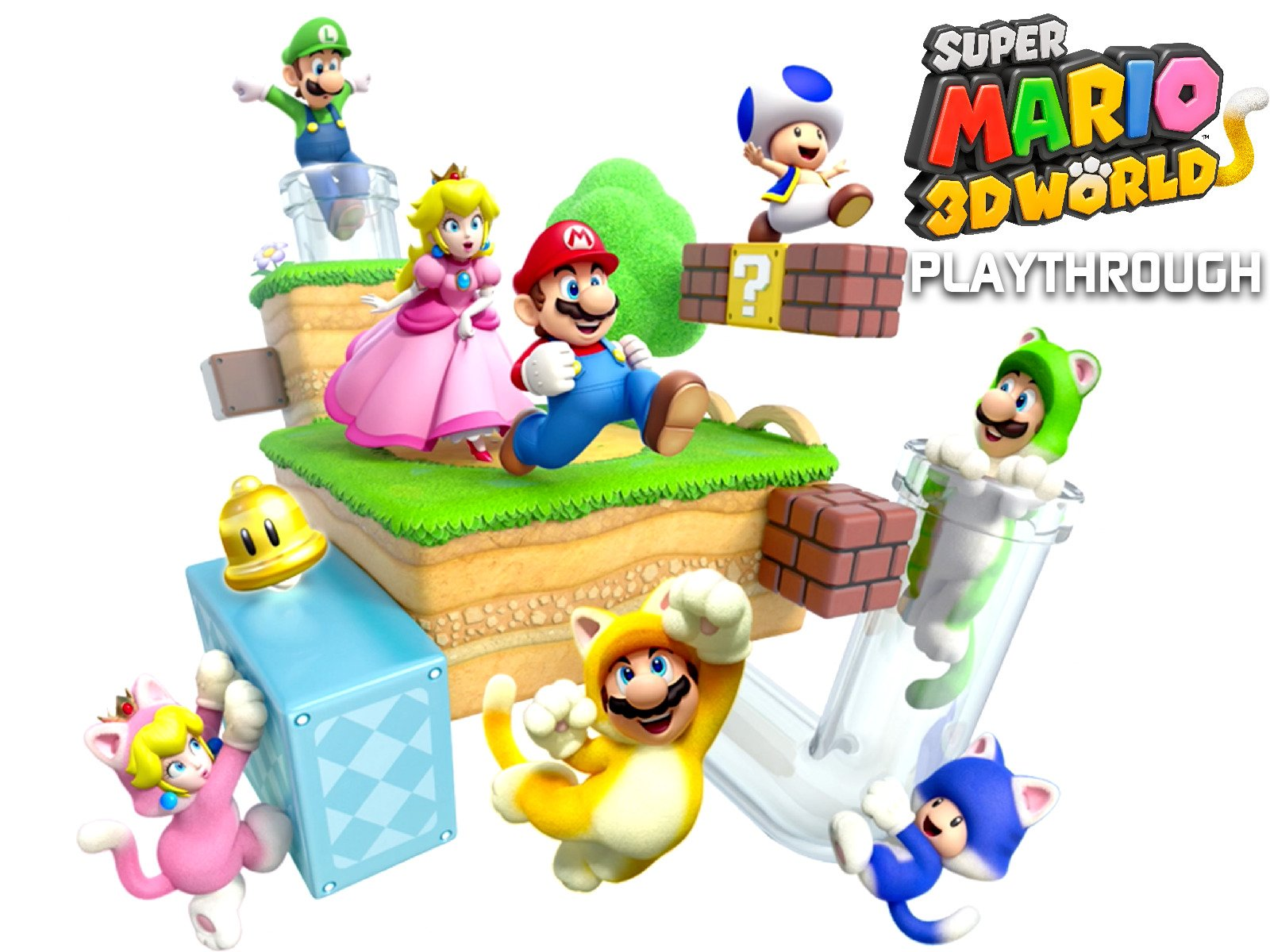 Clip: Super Mario 3D World Playthrough