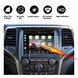 2014-2018 Jeep Grand Cherokee Uconnect Touch Screen Car Display Navigation Screen Protector, RUIYA HD Clear Tempered Glass Car in-Dash Screen Protective Film (8.4-Inch) (Color: 8.4-Inch, Tamaño: 8.4-Inch)