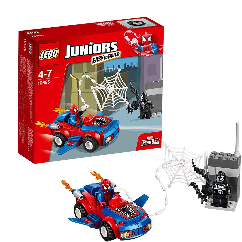 Lego Juniors 10665 - Spider-Man: Car Verfolgung