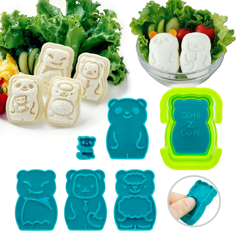 CuteZcute Animal Palz Mini Sandwich and Egg Press