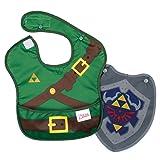 Bumkins Nintendo SuperBib with Cape, Zelda (6-24 Months)