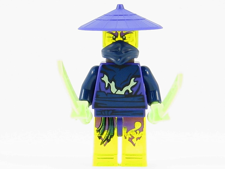 LEGO® Ninjago: Cowler Ghost Ninja Warrior Minifigure with Swords and Spear bestellen