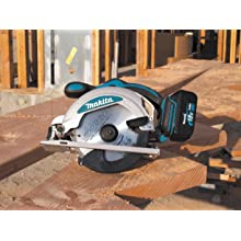 Makita BSS610Z 18-Volt LXT Lithium-Ion Cordless 6-1/2-Inch Circular Saw (Tool Only, No Battery)