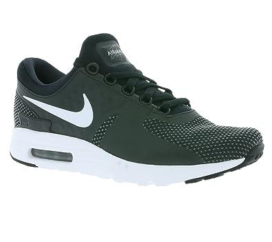 47e8276817 Nike Men's Air Max Zero Essential Black/White Dark Grey Running Shoe 10 Men  US