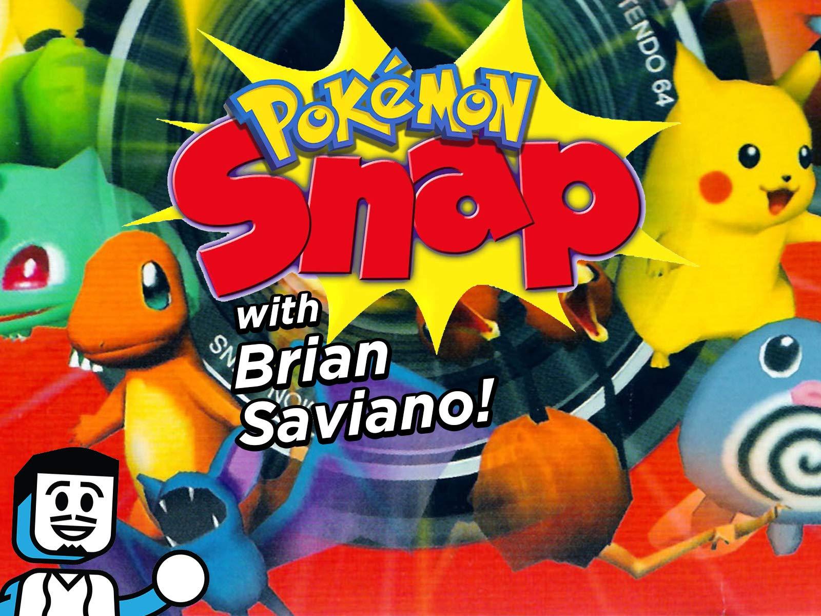 Clip: Pokemon Snap with Brian Saviano! - Season 1