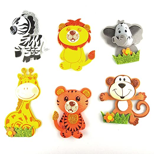 Safari Animal Cutouts Animals Foam Cutouts Decor