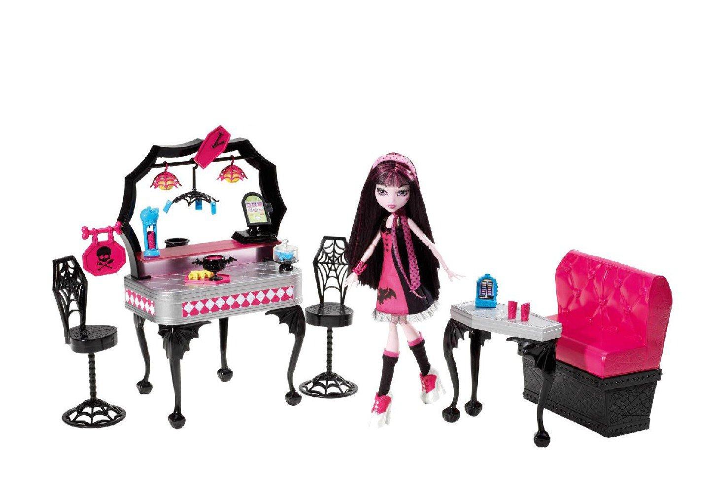 Monster High Die-Ner and Draculaura