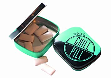 Random in Tandem Green Chill Pill tin at amazon