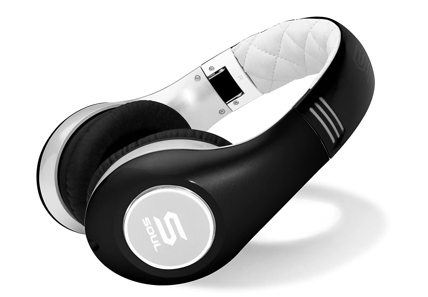 SOUL by Ludacris SL300WB High Definition Noise Canceling Headphones (Black/White) $99.99