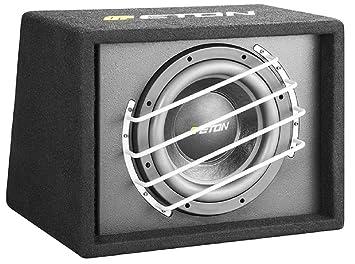 """ETON force 12-800BR 30 cm (12 """") - 800 w caisson de basse avec boîtier bassbox coffre de voiture"""