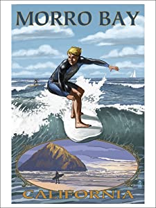 Morro Bay, California poster