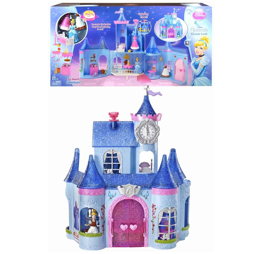 Cinderella Magic Clip Castle Doll House $26.32