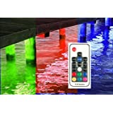 Multi-Color Pimp My Dock LED Lights DIY Premium 15,000 Lumen LED Under Dock Lighting Kit SMD5630 IP68 Completely Waterproof (Multi-Color) (Color: Multicolor, Tamaño: large)
