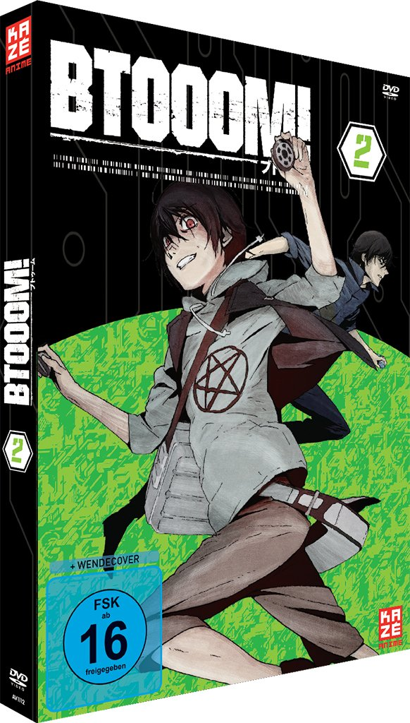 Btooom!, Volume 2 (DVD)
