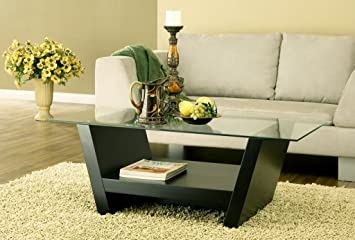 Arched Leveled Coffee Table