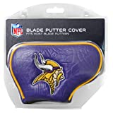 Team Golf NFL Minnesota Vikings Golf Club Blade Putter Headcover, Fits Most Blade Putters, Scotty Cameron, Taylormade, Odyssey, Titleist, Ping, Callaway