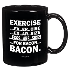 Eggs Are Sides For Bacon Mug-- Perfect For Any Bacon Lover!!