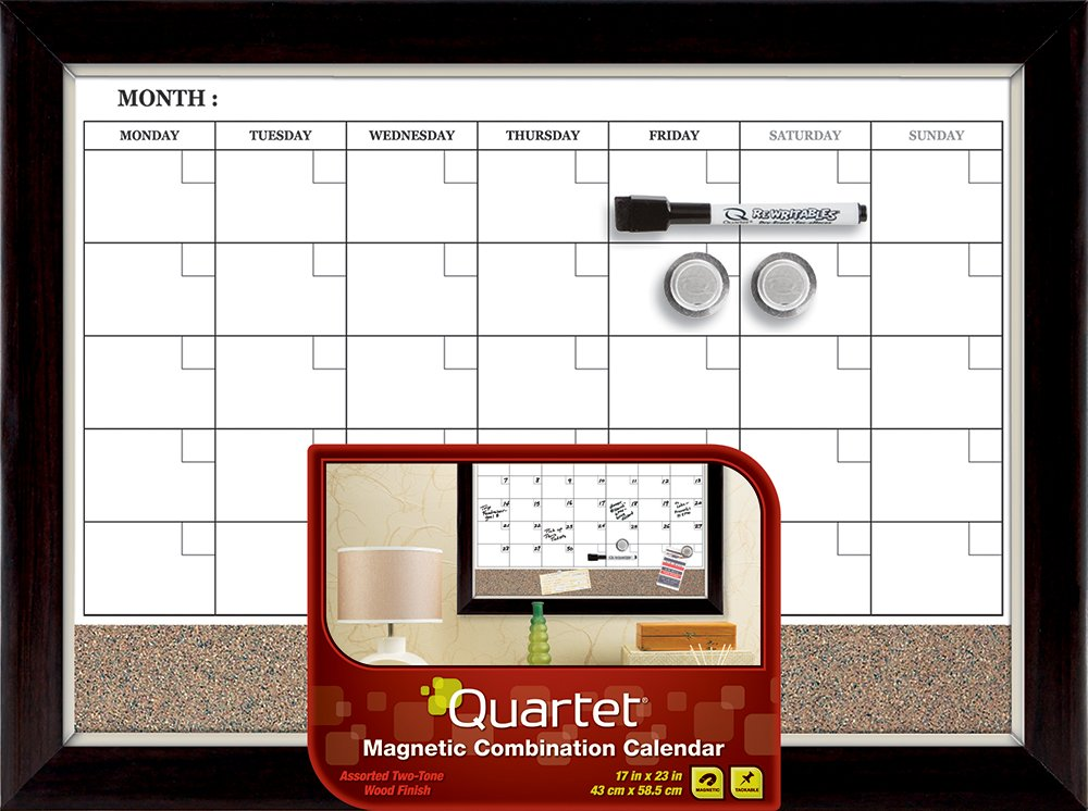 Dry Erase Calendar Board : Best calendar dry erase boards weekly monthly daily for