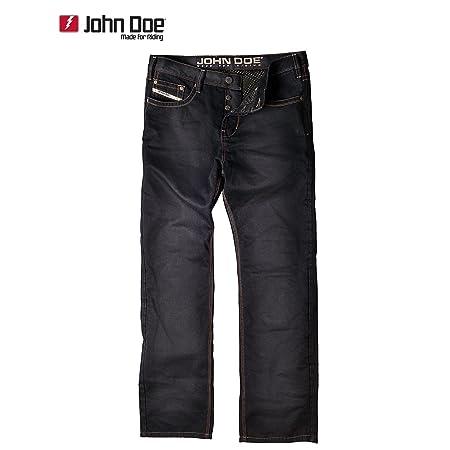 John doe kAMIKAZE jeans regular cut avec fibres en duPont kEVLAR ®-noir
