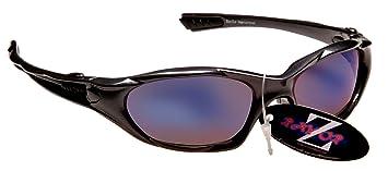 a8b1bda6b20de ... Wrap Lunettes de soleil de sport professionnelles légères à verres bleu  antireflets miroir fumés Idéales pour faire de la randonnée Protection UV  400 -