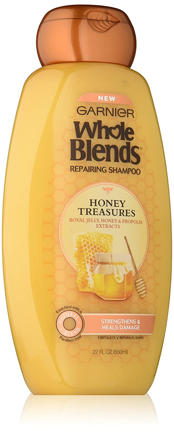 Garnier Whole Blends Repairing Shampoo, Honey Treasures extracts, 22 Fluid Ounce