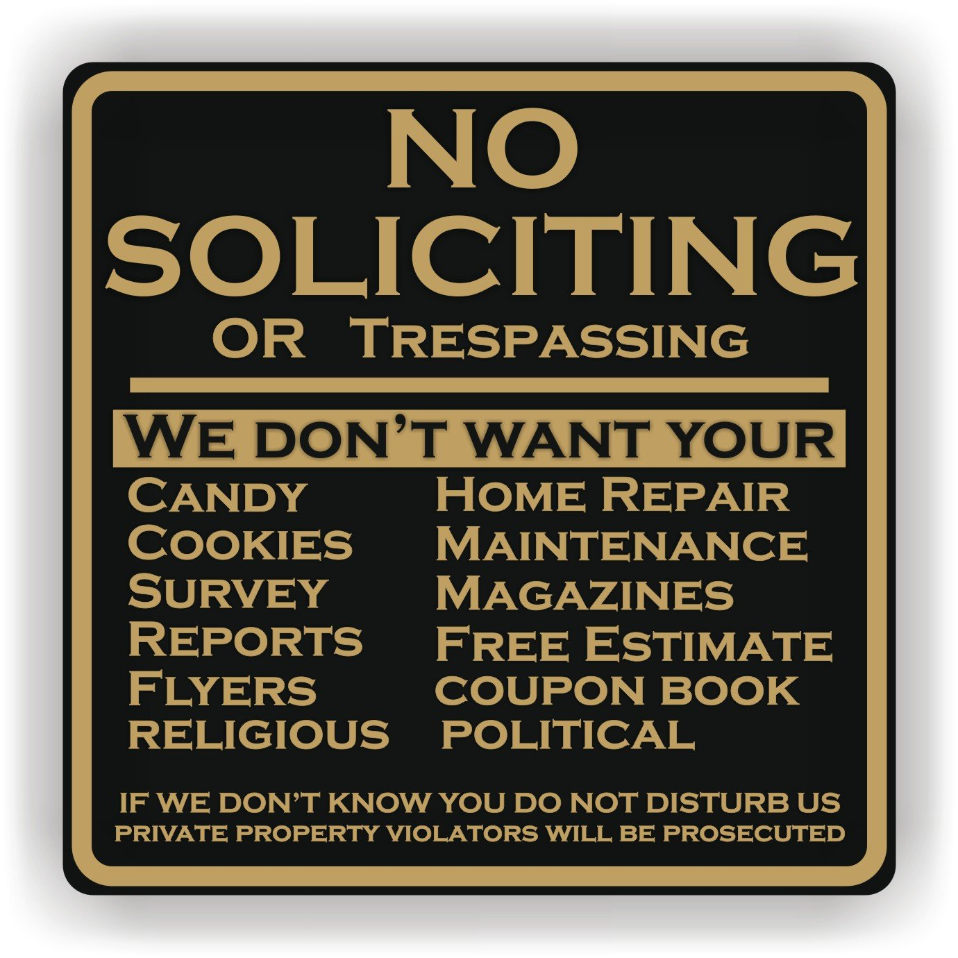 Picture of: How Effective Are Residential No Soliciting Signs Anandtech Forums Technology Hardware Software And Deals