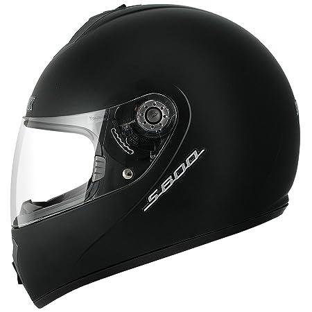 SHARK - Casque moto S600 PRIME MAT - Taille : S - Couleur : Noir mat