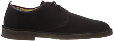 Desert London: Black Suede