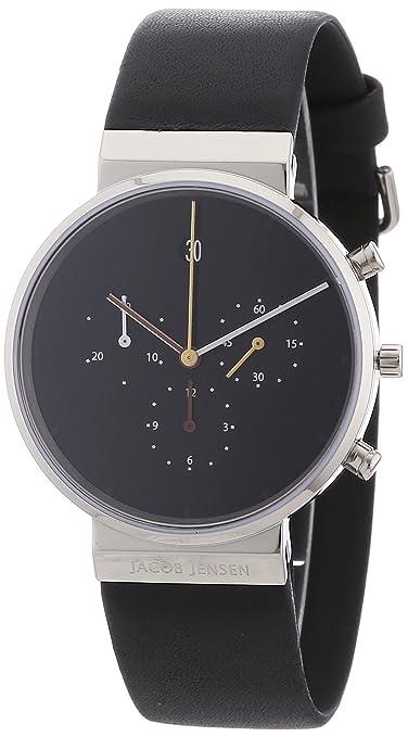 Jacob Jensen 603 Chronograph Black Dial Men's Watch at Sears.com