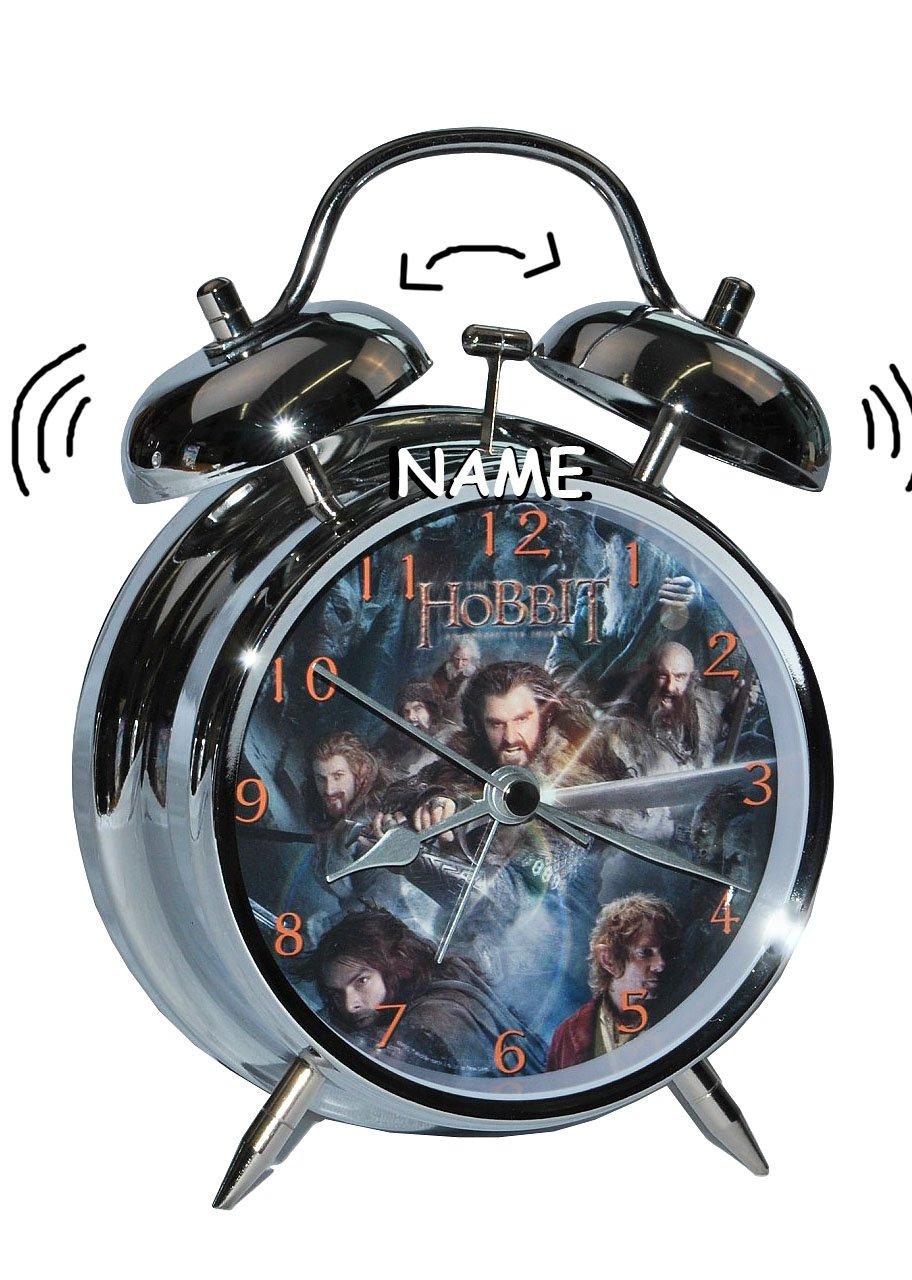 Kinderwecker Hobbit – Herr der Ringe incl. Namen – für Kinder Metall großer Wecker Analog – Alarm Metallwecker – Jungen Mittelerde Hobbits online kaufen