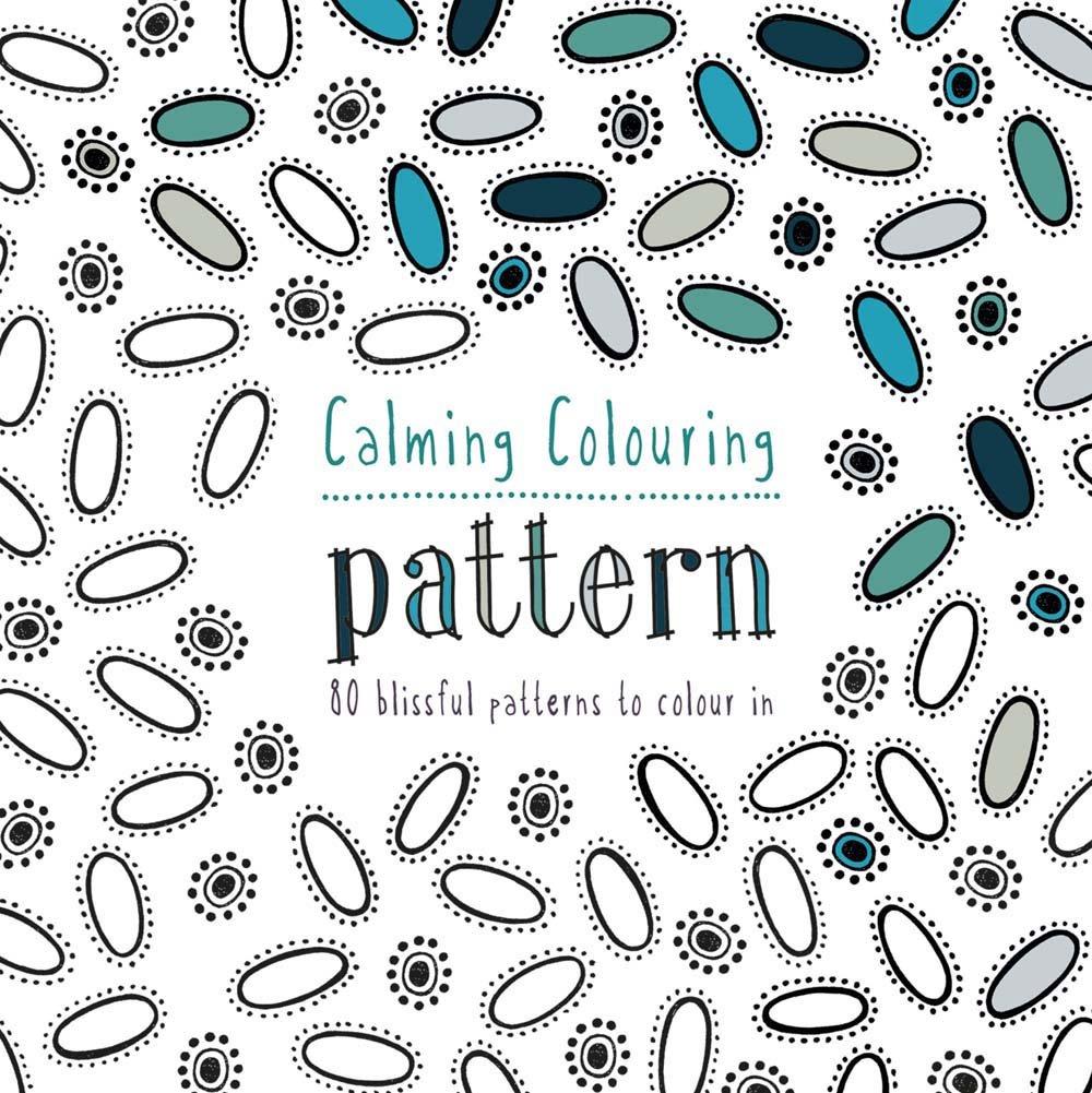Coloring Book – Calm (nyugtató képek, 2990 Ft)