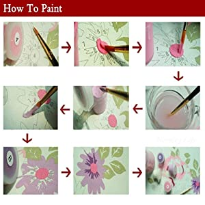 DIY Paint by Numbers for Adults | Komking Paint by Number Kits for Beginner | DIY Canvas Painting Kits for Home Wall Decoration | Gentle Cat 16x20inch (Color: Gentle Cat)