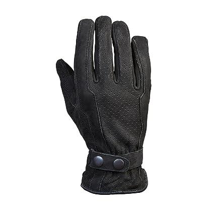Germas 402. 01-12-2XL gants Pesaro nubuck) pour moto (noir, taille :  XXL