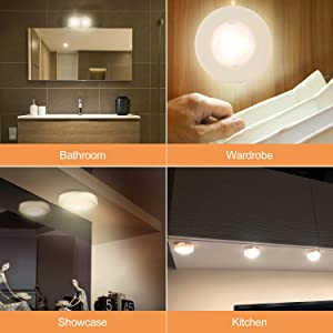 Salking led under cabinet lighting wireless led puck lights with salking led under cabinet lighting wireless led puck lights with remote control dimmable closet light aloadofball Choice Image