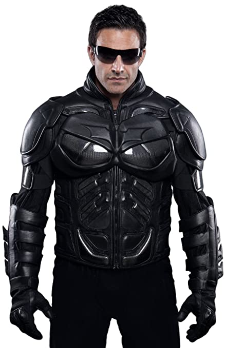 Amazon.com: UD Replicas The Dark Knight Rises: Batman Motorcycle Suit Jacket, XX-Large: Toys & Games