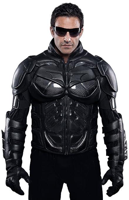 Amazon.com: UD Replicas The Dark Knight Rises: Batman Motorcycle Suit Jacket, XX-Large: Toys & Games