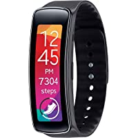 Samsung Galaxy Gear Fit Fitness Tracker and Smartwatch (Black) - Refurbished