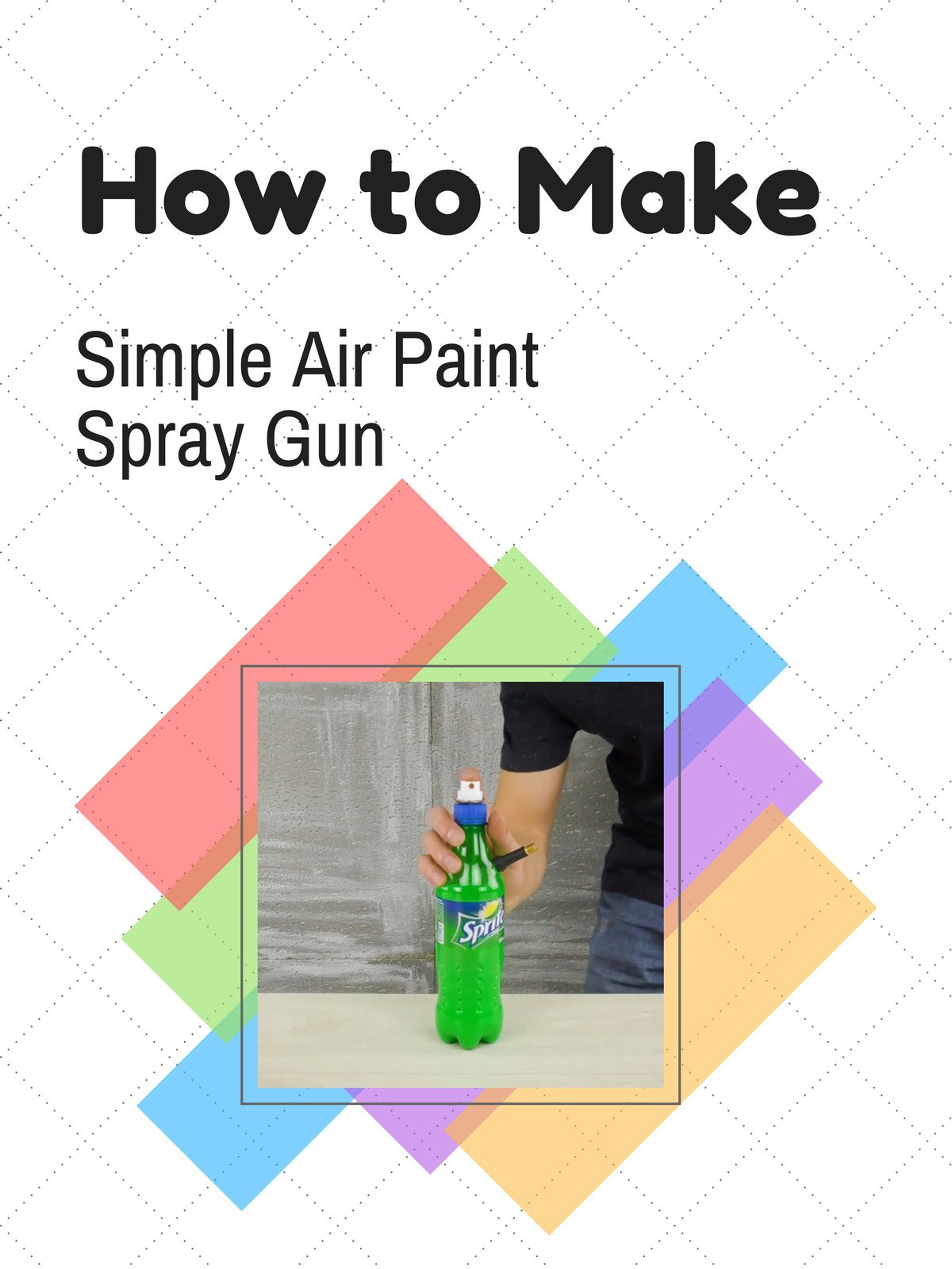 How to Make Simple Air Paint Spray Gun