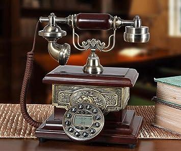 hyl Antique Phone Home Office Button Téléphone
